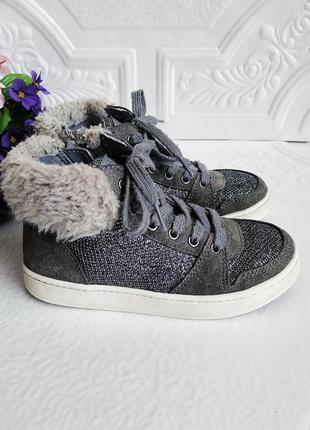 Демисезонные ботинки кеды сникерсы clarcs