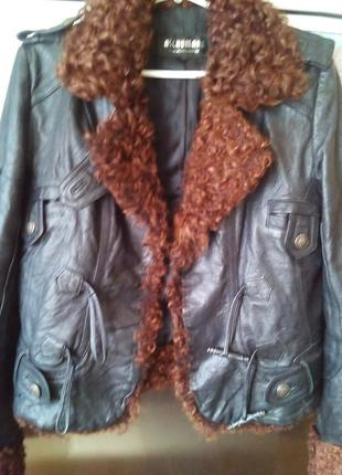 Куртка-л-кожа2 фото