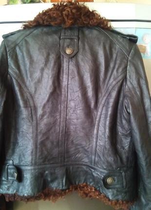 Куртка-л-кожа3 фото