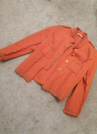 Пиджак-куртка валяная шерсть-л-хл