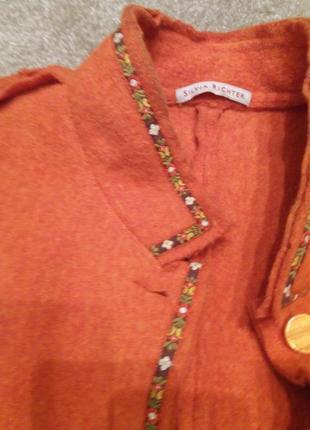Пиджак-куртка валяная шерсть-л-хл2 фото