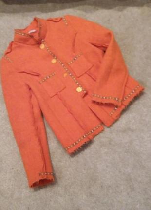 Пиджак-куртка валяная шерсть-л-хл6 фото