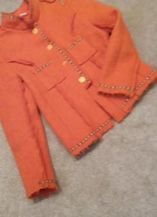 Пиджак-куртка валяная шерсть-л-хл7 фото