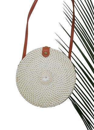 Плетёная / соломенная сумка из о. бали