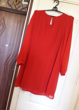 Яркое красивое платье 16р.