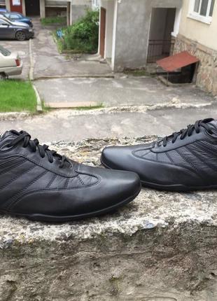 Оригинальные кожаные кроссовки, туфли clark's clarks