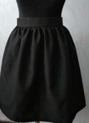 Новая черная юбочка в сборку, разные размеры и цвета.