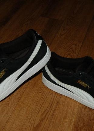 Кожаные кроссовки 40,5 р puma оригинал хорошее состояние