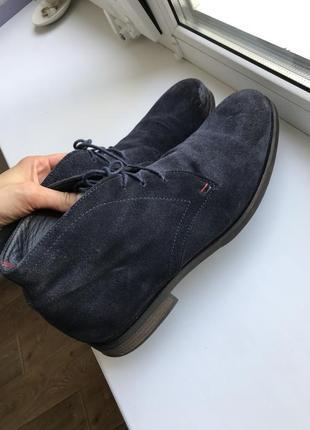 Туфли tommy hilfiger, 45 размер, состояние новых!
