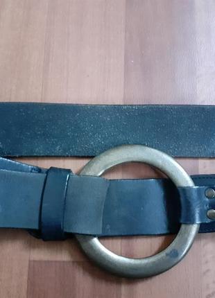 Крутой кожаный ремень gap