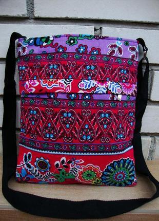 Нова фірмова текстильна сумка кросбоді cotton traders!!!
