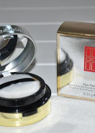 Рассыпчатая минеральная пудра elizabeth arden pure finish mineral powder foundation spf20