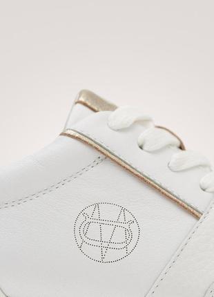 Кожаные кроссовки massimo dutti 20193 фото