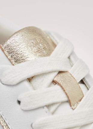 Кожаные кроссовки massimo dutti 20194 фото