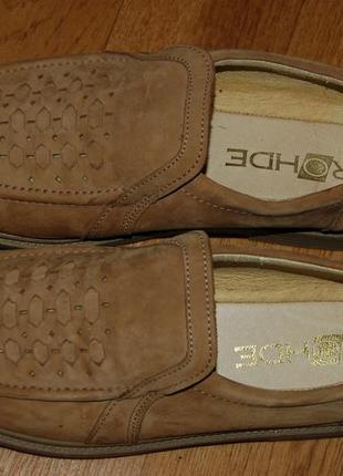 Кожаные туфли 44 р rohde германия новое состояние