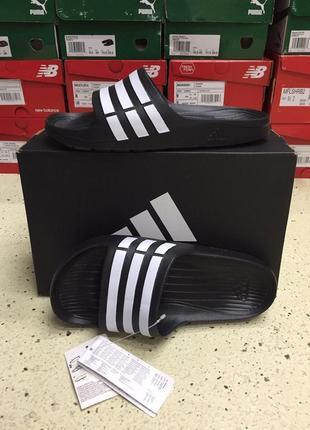 Шлепанцы adidas duramo slides оригинал