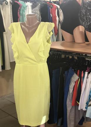 Яркое платье top secret
