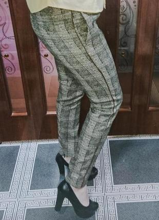 Трендовые штаны - брюки с лампасами турция размер м