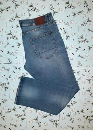 Акция 1+1=3 крутые фирменные узкие джинсы с потертостями firetrap оригинал, размер 50 - 52