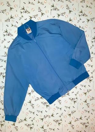 Стильный светло синий бомбер куртка premier man, размер 44 - 46