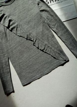 Красивая блуза кофточка с оборкой m&s3 фото