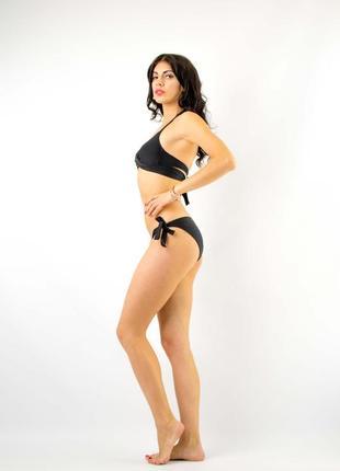 Купальник раздельный бикини с push-up плавки слип8 фото