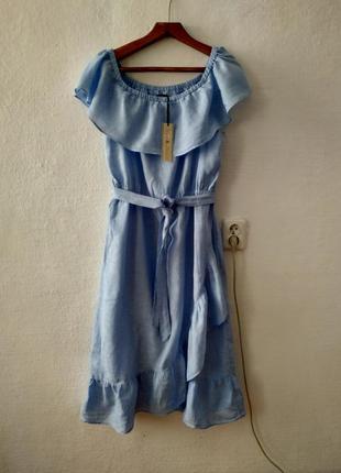 53f46fb0adf Льняное легчайшее платье большого размера