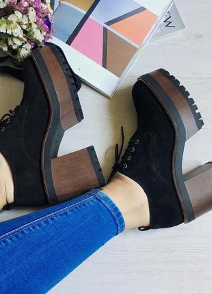 Новые ботинки pull&bear