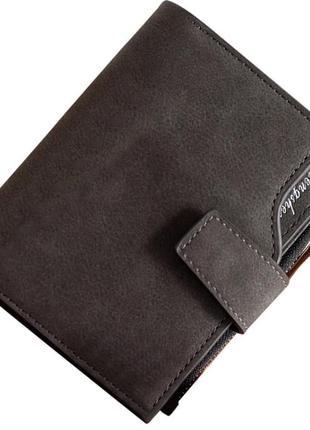 Есть варианты! новый супер классный черный вместительный короткий кошелек бумажник