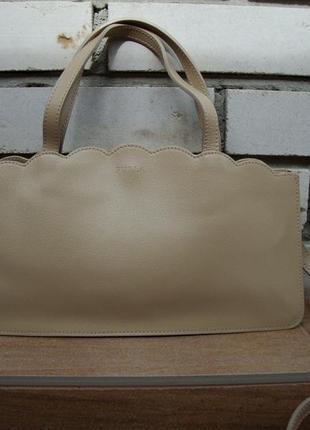 Люкс бренд!!!шкіряна фірмова італійська сумка кросбоді furla. оригінал!!!