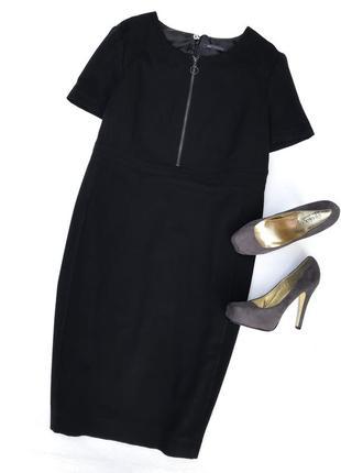 Чёрное платье большого размера