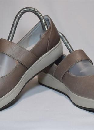 Туфли балетки joya женские кожаные. швейцария. оригинал. 38-39 р./25 см.