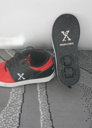 Heelys роликовые кроссовки на колесиках колоботы скейт ролики 36.5-37
