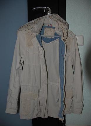 Ветровка, плащ, тренч, куртка pull&bear размер s в идеальном состоянии