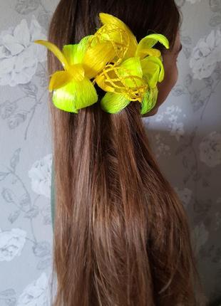 Стильная заколка для волос,украшения для волос ручной работы,постиж,заколка для волос