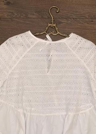 Шикарная летняя блузка с рукавами asos размер  m uk 12 сток оригинал