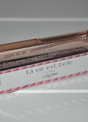 La vie est belle en rose lancome для женщин 2019 (миниатюра спрей 10ml)