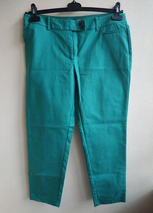 Бирюзовые брюки jjb benson