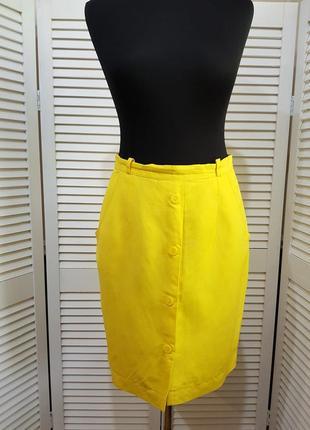Стильная желтая юбка apart
