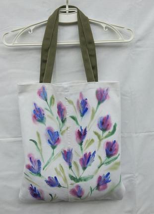 Очень красивая сумка с цветами