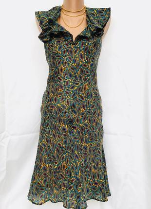 77048ee1fe8 Шёлковое платье  сарафан саронг сафари