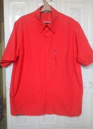 Salomon трекинговая рубашка на кнопках летняя