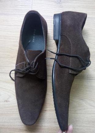 Удобнейшие замшевые туфли pier one