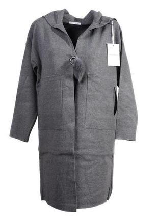 Оригинальное пальто от бренда beaty woman разм. l-xl