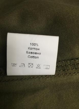 Куртка джинсовка time of style новая хаки5 фото