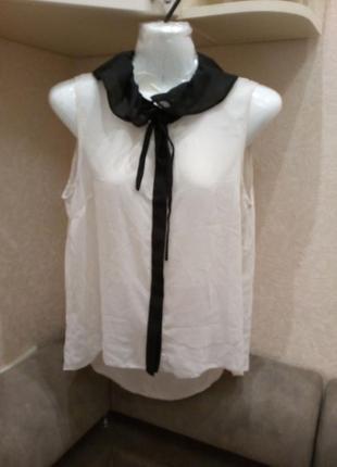 Блузка  -бренд-petites-10\12р            распродажа