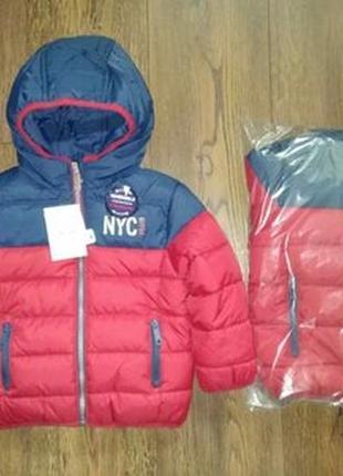 Демисезонная двухсторонняя куртка c&a