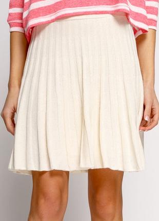 Летняя вязаная юбка pull&bear, m