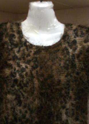 Актуальный блузон леопринт-травка-бренд-b*l*u*h*m       ---10\12\14р  з6