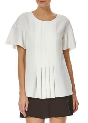 В наличии - кремовая блуза *french connection* 8/36 р.